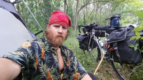 Saturday, July 18, First Day #BikePacking